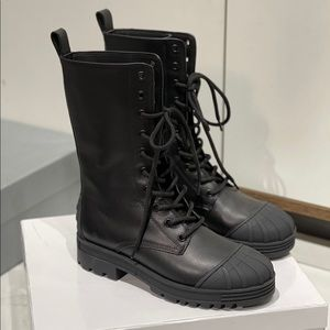 Christian Dior Leather Boots - COPY
